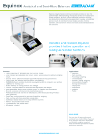Equinox Analytical and Semi-Micro Balances - EAB-Equinox-DS-A4-EN.pdf