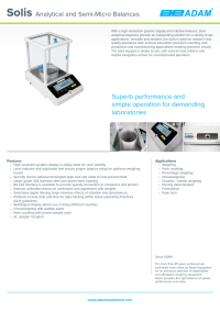 Solis Analytical and Semi-Micro Balances - SAB-Solis-DS-A4-EN.pdf