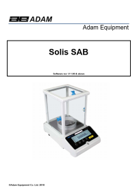 Solis Analytical and Semi-Micro Balances - Solis_UM_EN.pdf