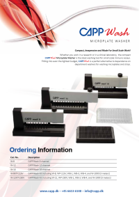 CappWash Microplate Washer