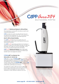 CappAero384 Product Flyer